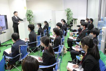 【22卒向け】県内でも珍しい社長参加型!?自社説明会開催♪
